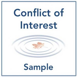 Conflict of Interest | Sample Policy & Disclosure Statement ...